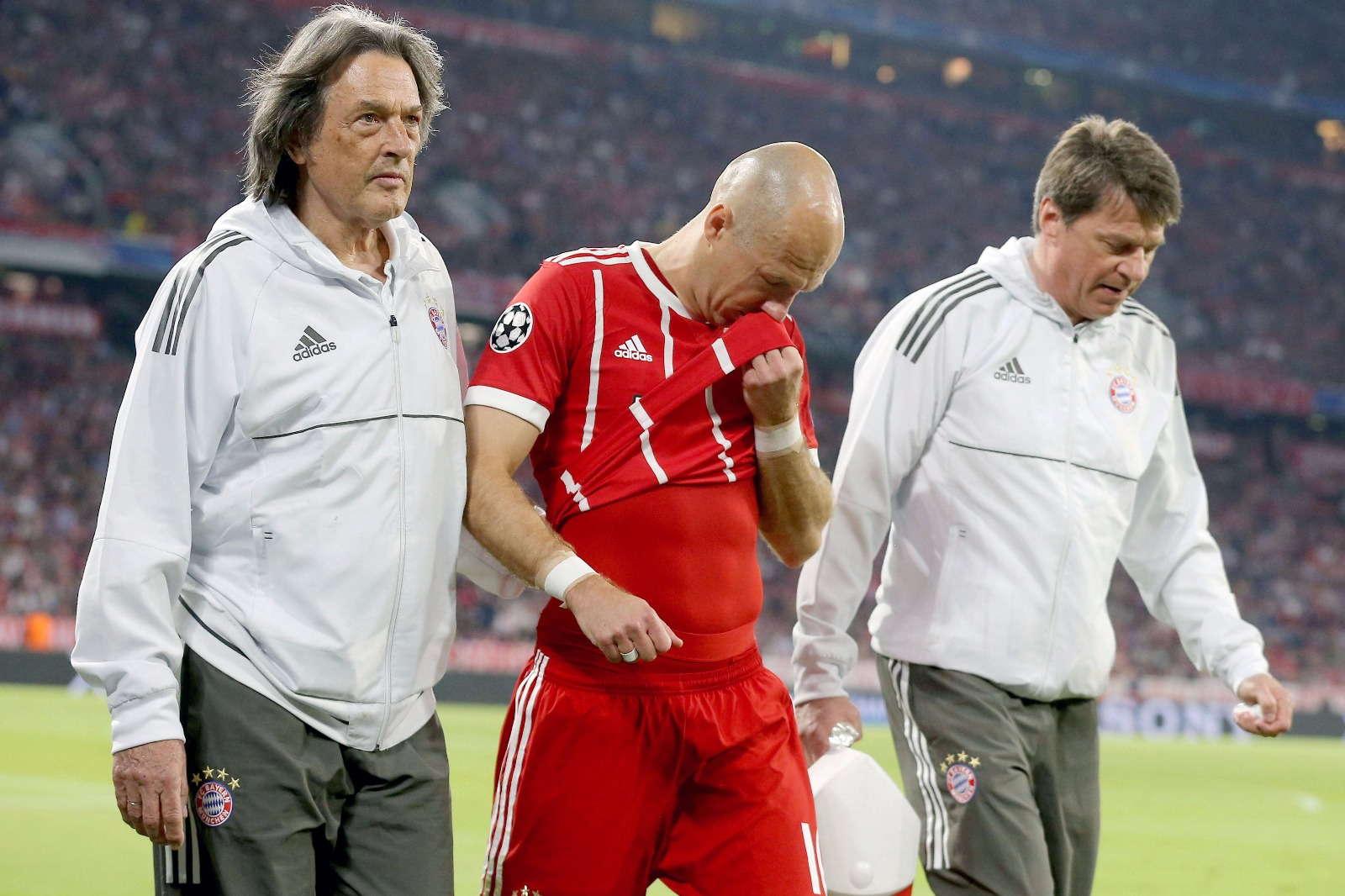 Arjen Robben : Cedera Membuat Saya Frustasi