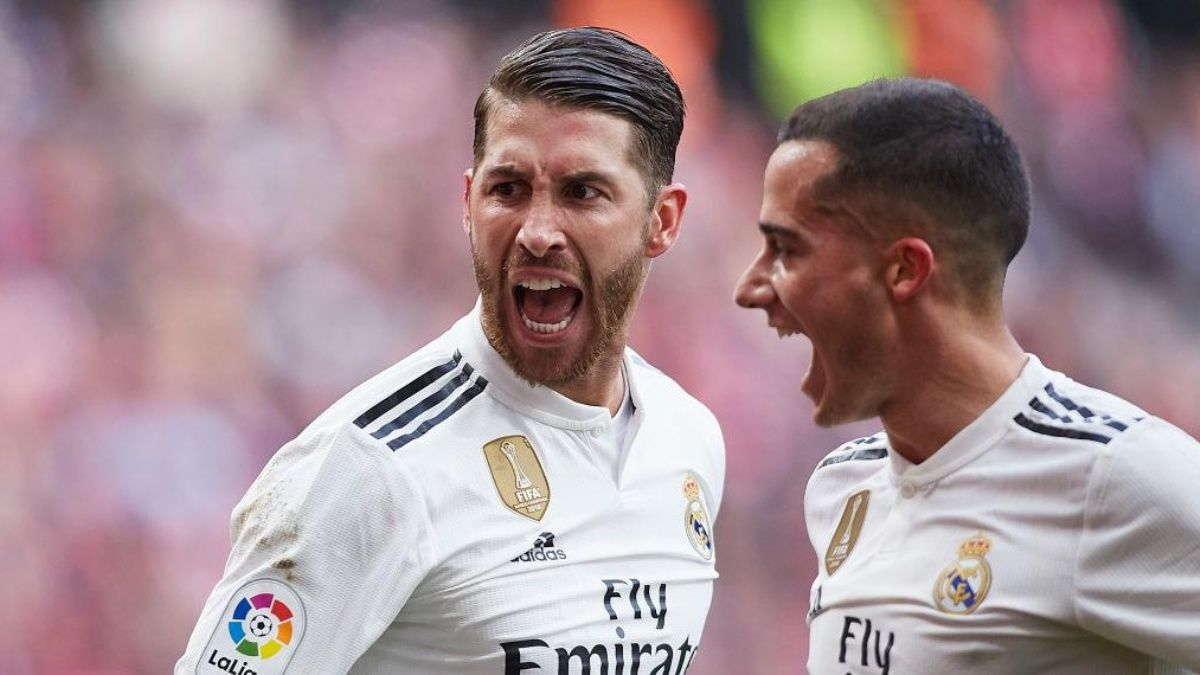 Sergio Ramos : Kami Bisa Mengejar Barcelona