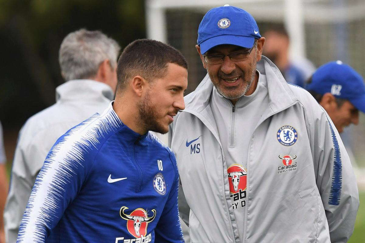 Hazard : Saya Suka Pemikiran Dari Maurizio Sarri