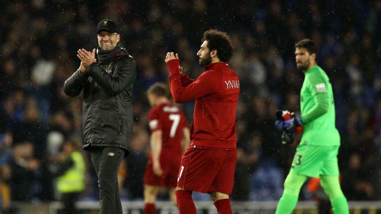 Mohamed Salah Memuji Pelatihnya Jurgen Klopp