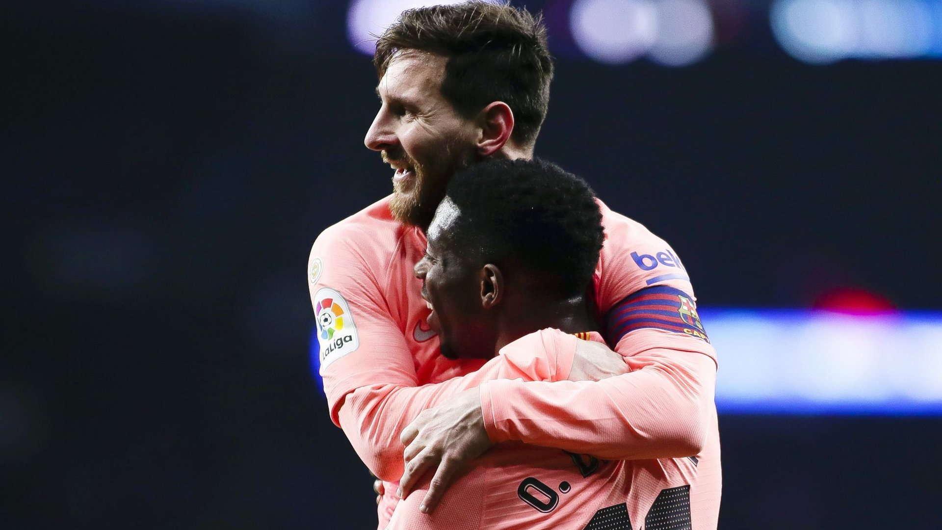 Dembele : Messi Membuat Sepakbola Lebih Mudah