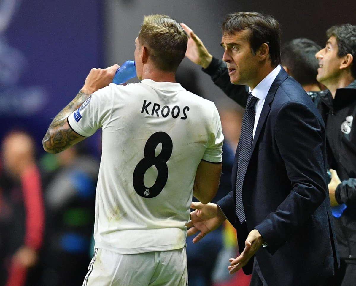 Kroos : Lopetegui Tidak Beruntung Bersama Madrid