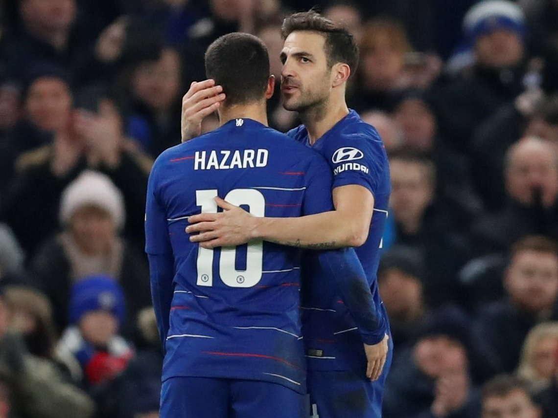 Fabregas : Eden Hazard Menyukai Real Madrid