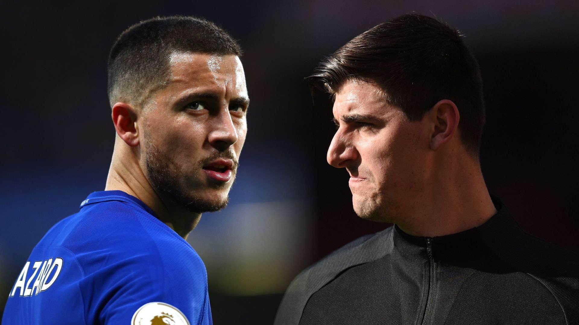 Thibaut Courtois Senang Jika Hazard Ke Madrid