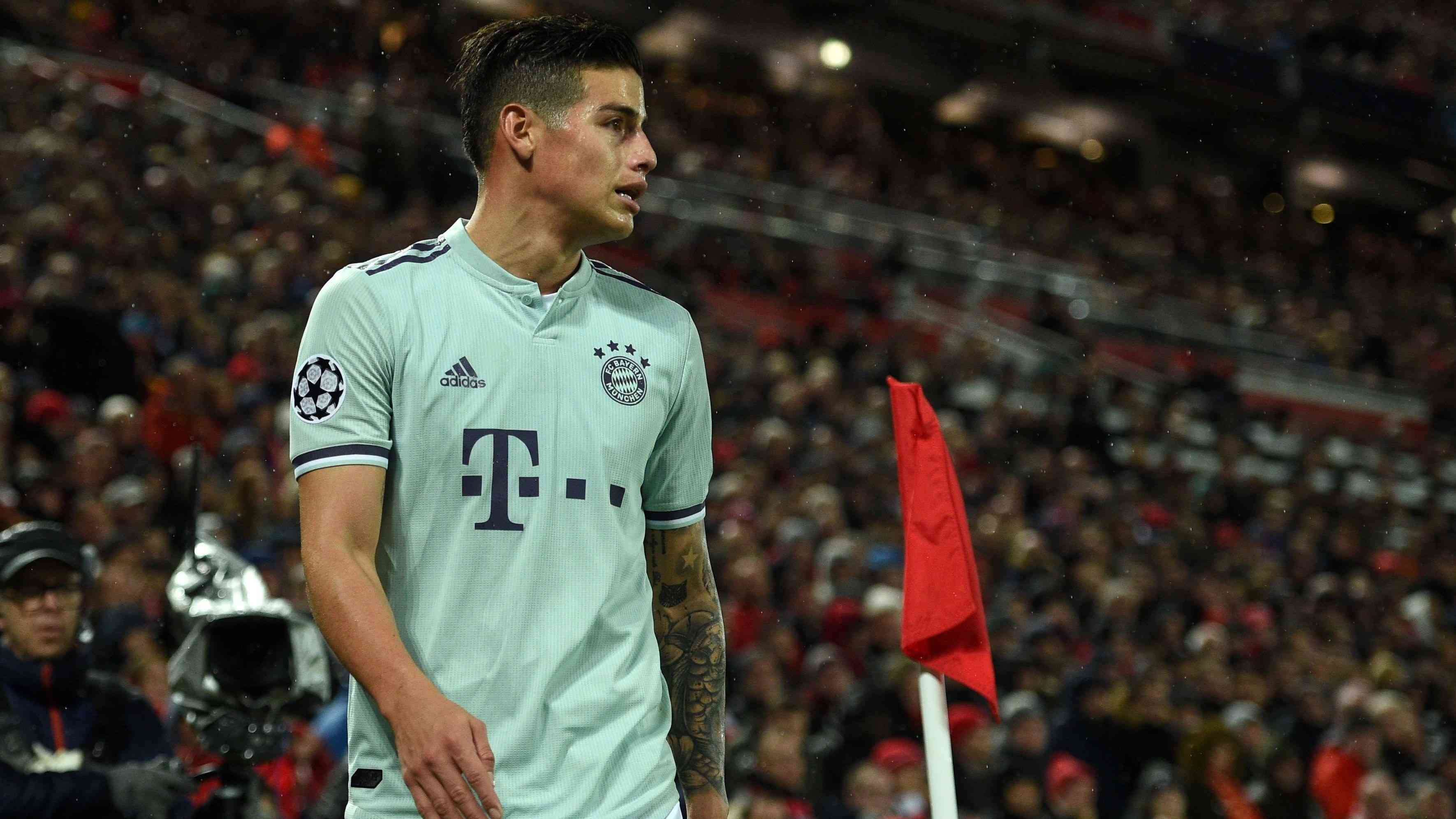 Madrid Dan Bayern Akan Bicarakan Masa Depan James Rodriguez