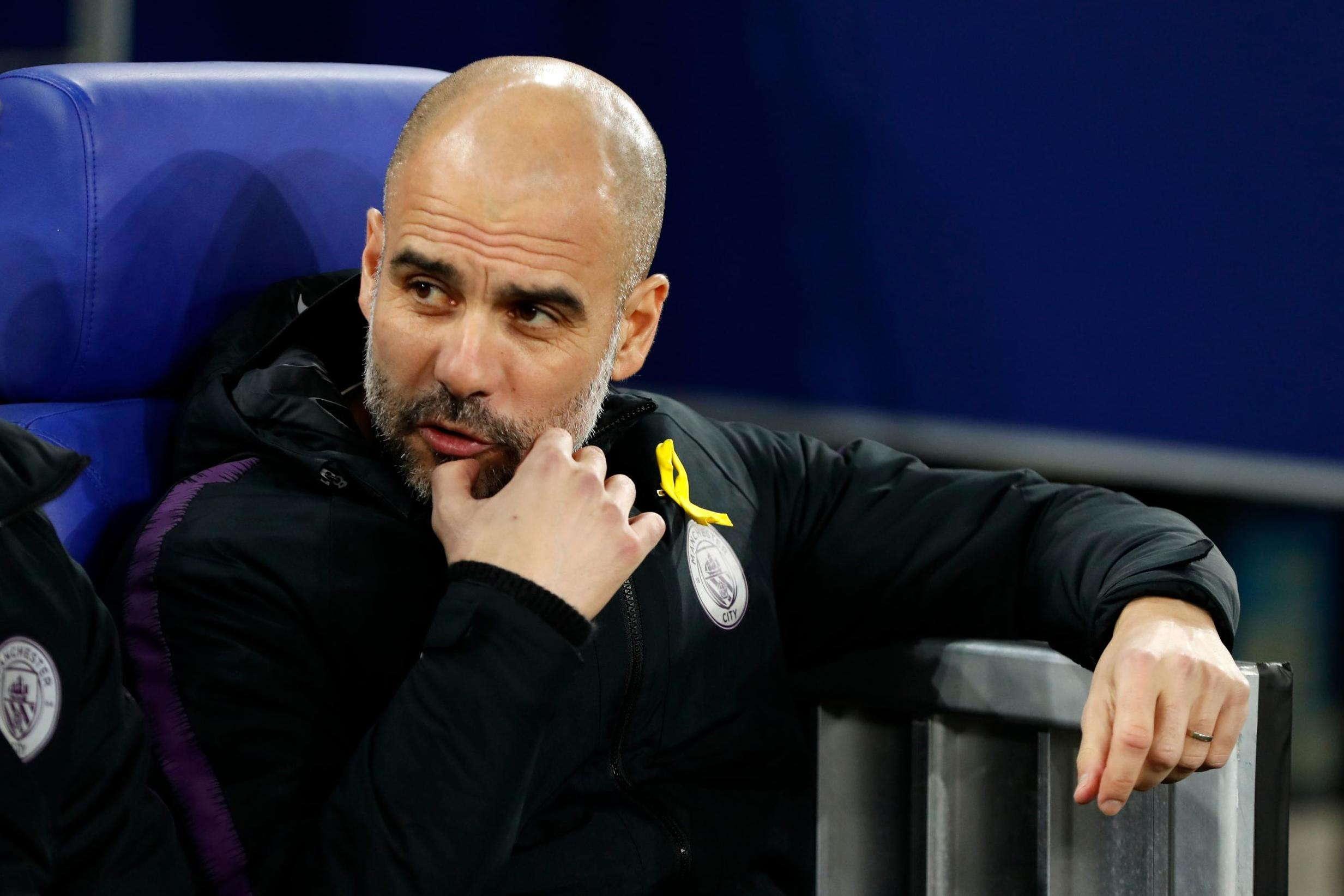 Guardiola : Kami Belum Siap Untuk Liga Champions