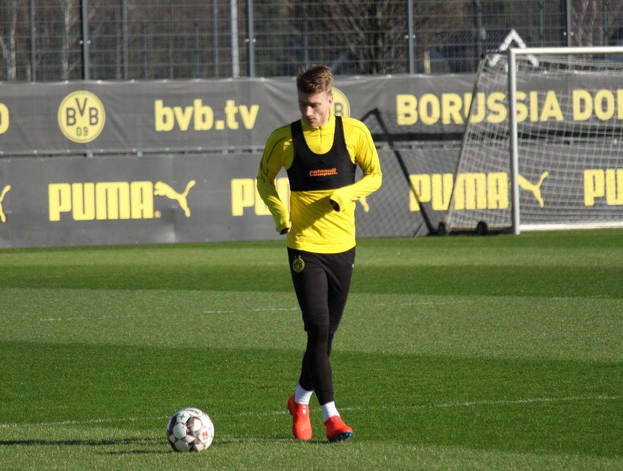 Marco Reus Kembali Berlatih Dengan Dortmund