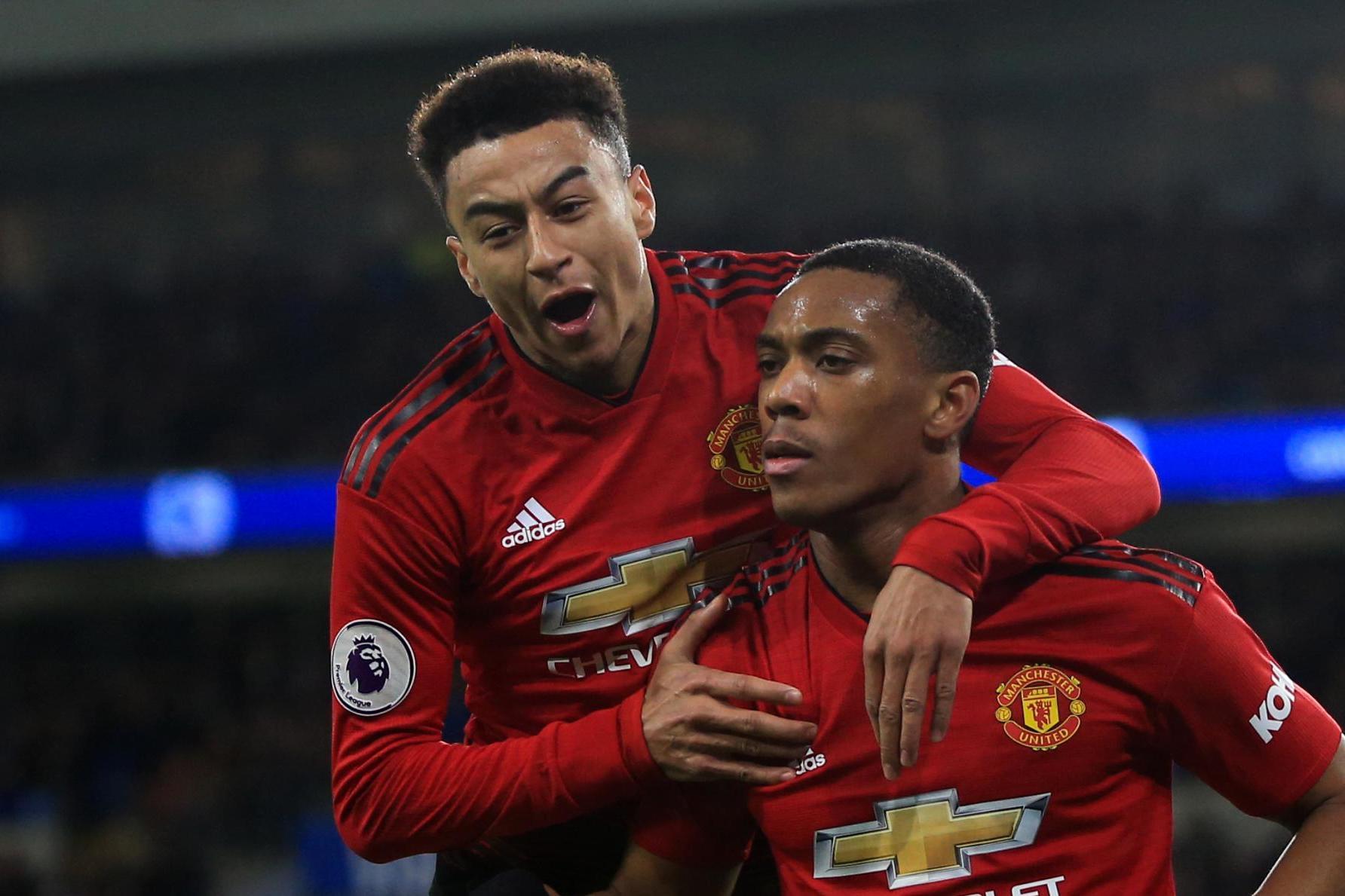 Lingard dan Martial Bisa Tampil Hadapi Liverpool