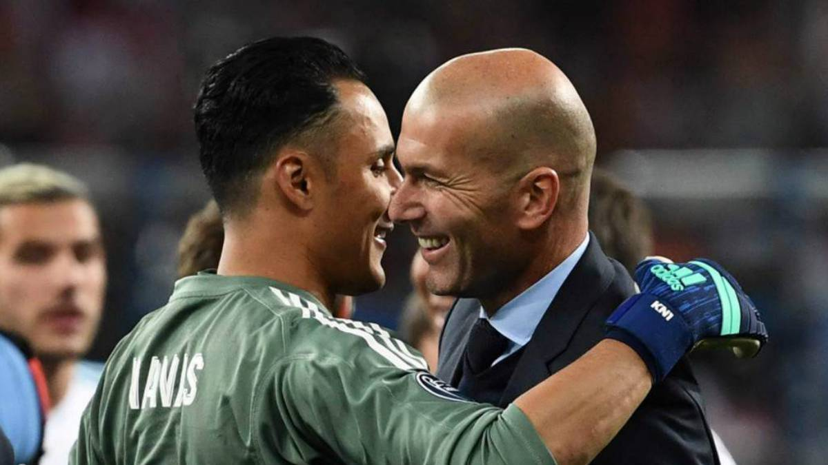 Zidane Mainkan Keylor Navas Untuk Hadapi Celta Vigo