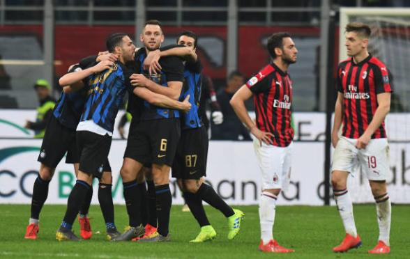Hasil Pertandingan Milan vs Inter Milan