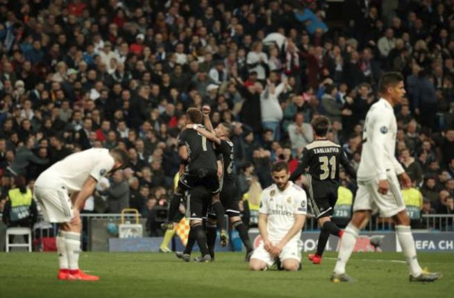 Hasil Pertandingan Madrid vs Ajax