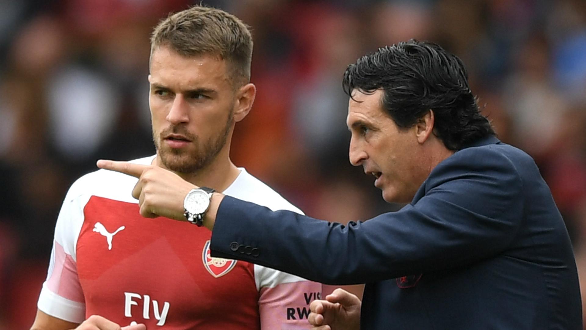 Unai Emery Senang Aaron Ramsey ke Juventus?