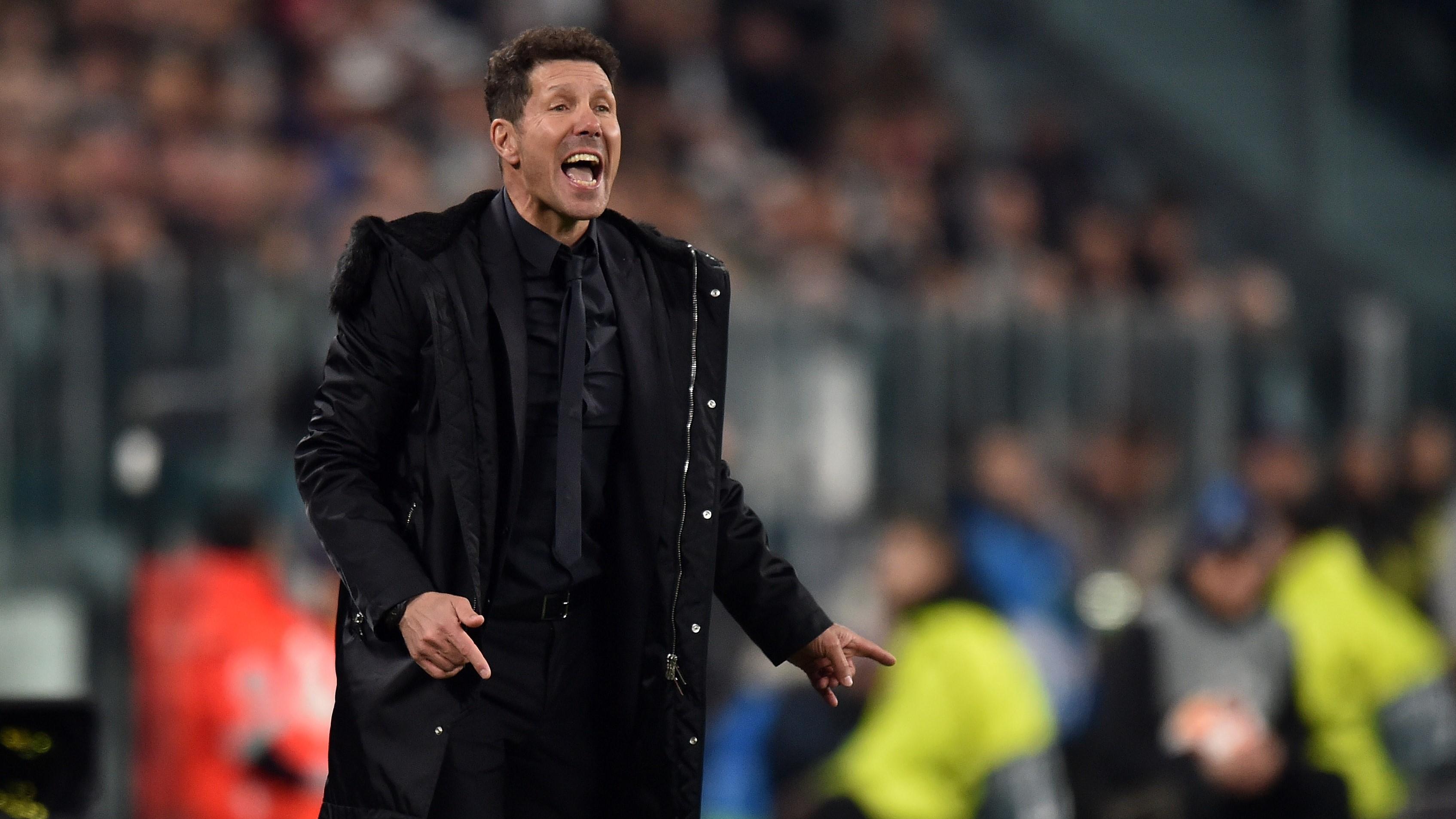 Atletico Madrid Kalah, Simeone Disalahkan?