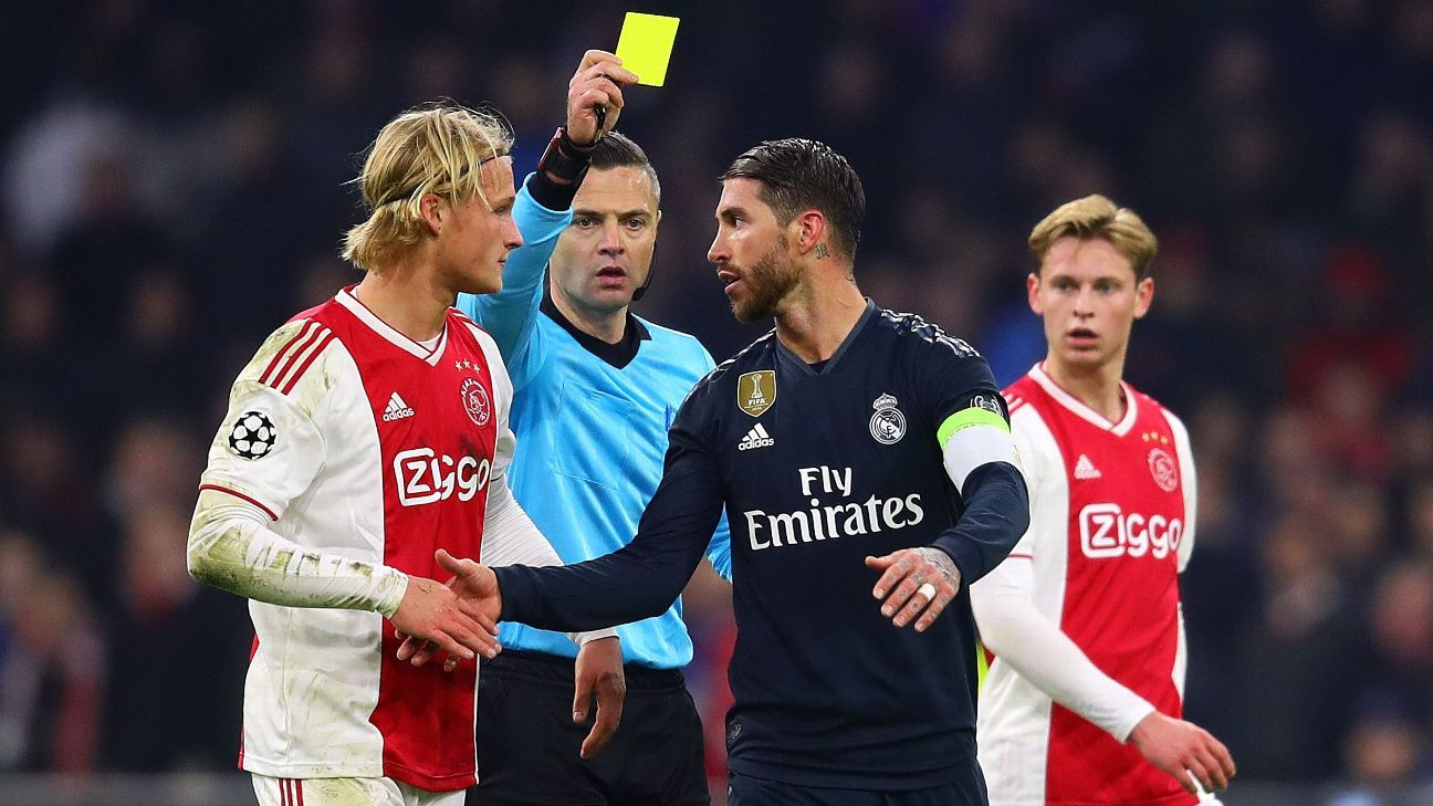 Sergio Ramos : Saya Membuat Kesalahan