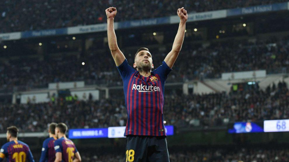 Jordi Alba Perbarui Kontrak Dengan Barcelona