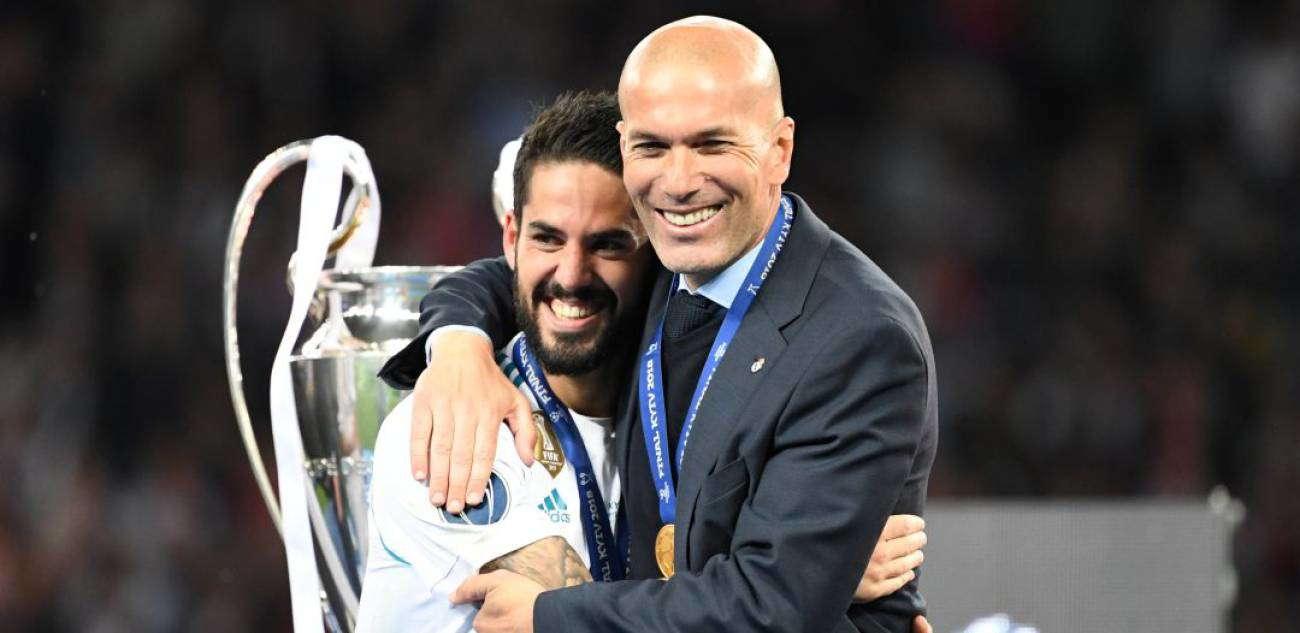 Isco : Zidane Sangat Mencintai Real Madrid