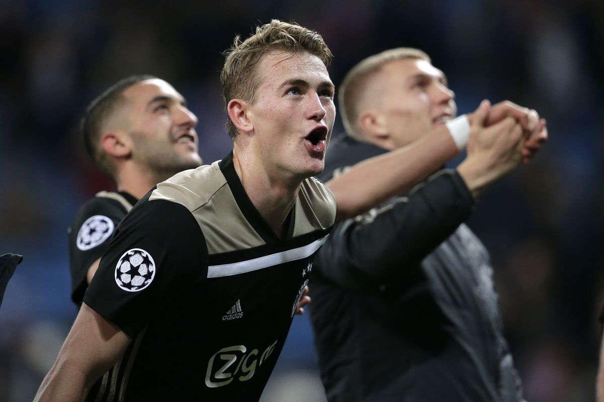 Juventus Adakan Pertemuan Dengan Agen Matthijs De Ligt