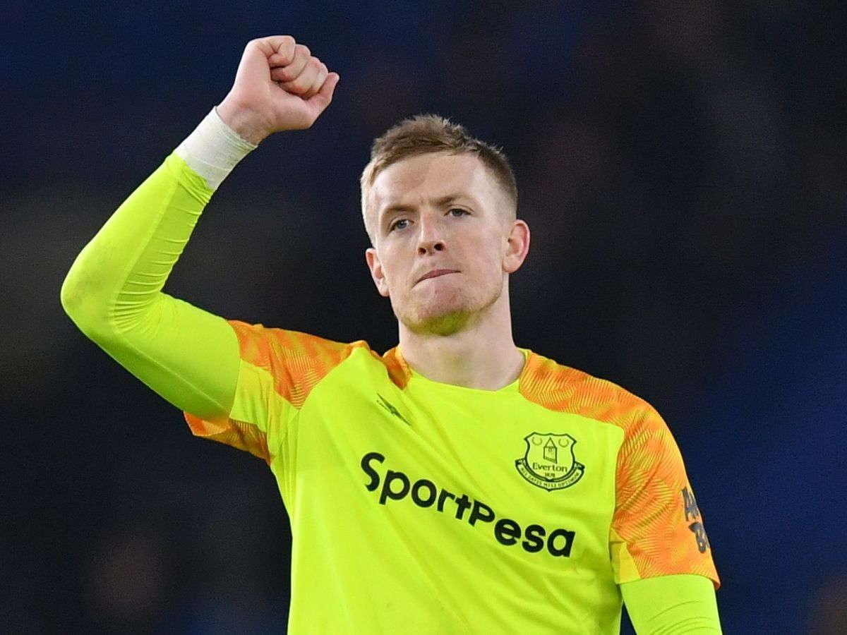 Silva : Jordan Pickford Memiliki Dukungan Dari Everton Dan Inggris