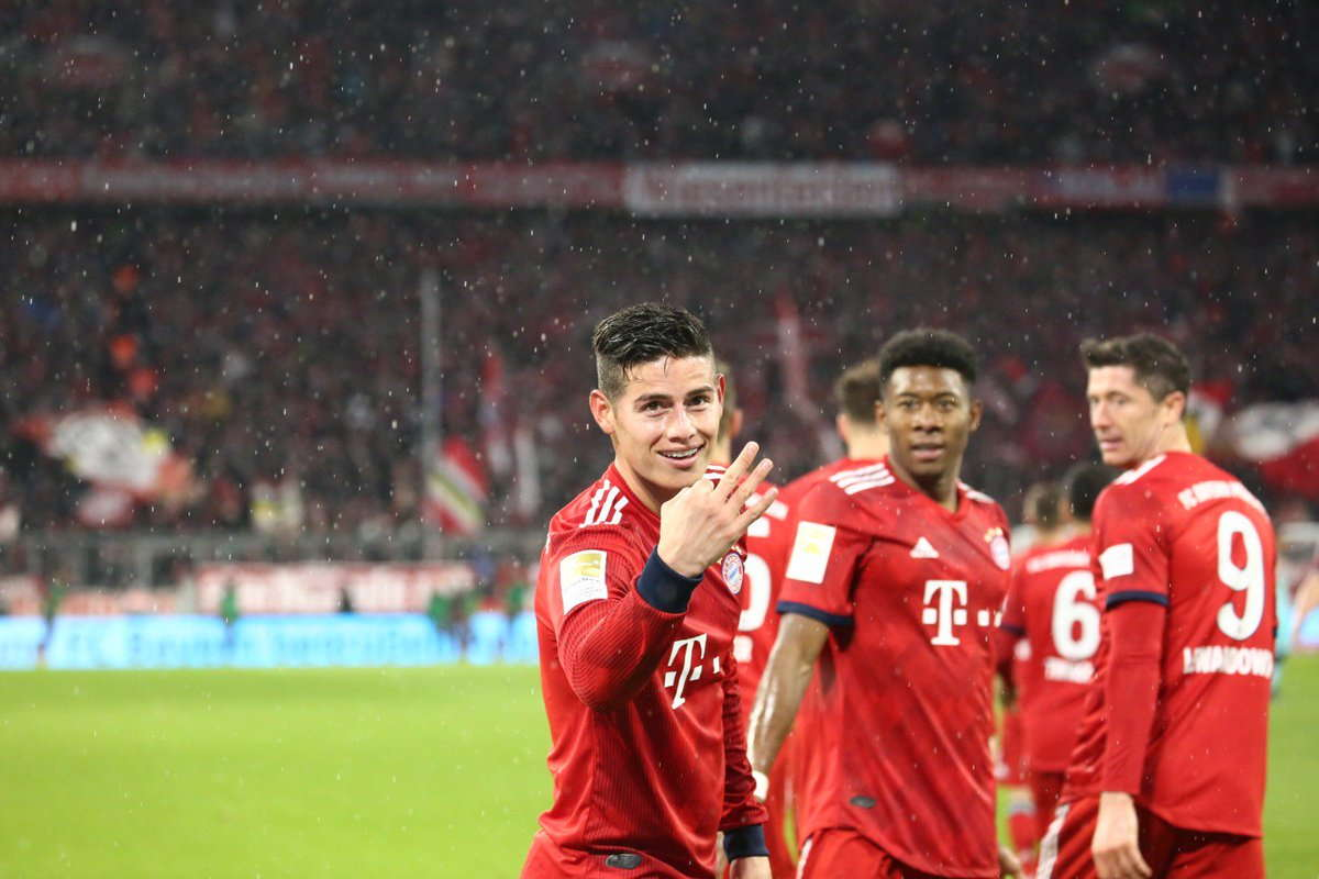 James Rodriguez : Saya Senang Dan Nyaman Di Bayern