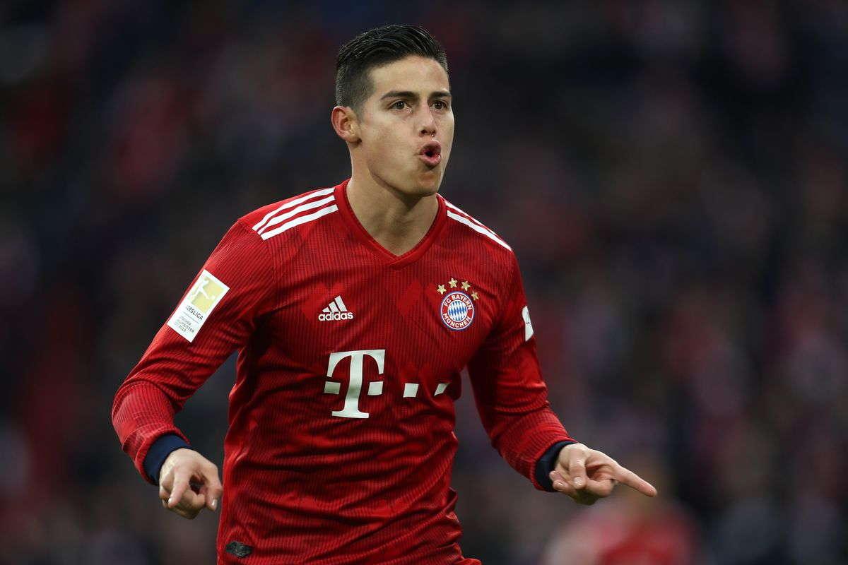 James Rodriguez Tidak Ingin Tetap Di Bayern