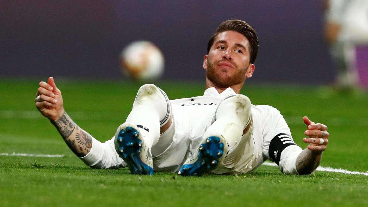 Sergio Ramos Hanya Akan Bermain Satu Pertandingan Dalam 3 Minggu