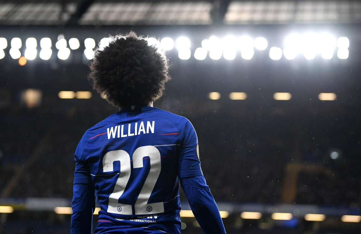 Willian Ingin Terus Bermain Bersama Chelsea