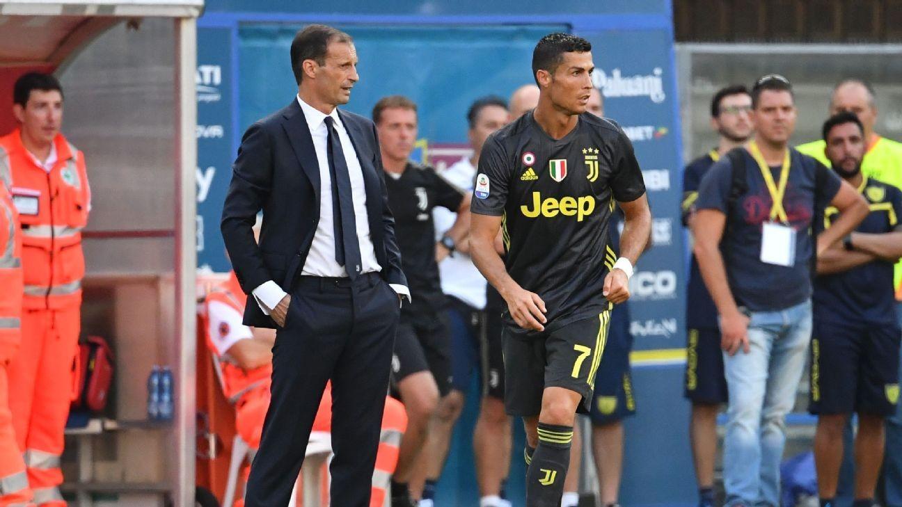 Allegri Berharap Ronaldo Cepat Kembali