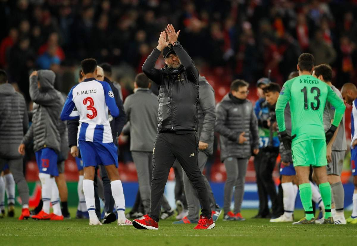 Klopp : Liverpool Pantas Menang Atas Porto