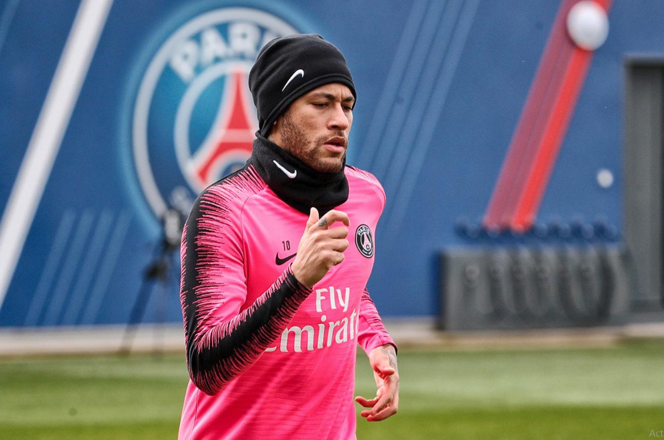 PSG : Neymar Telah Kembali Berlatih