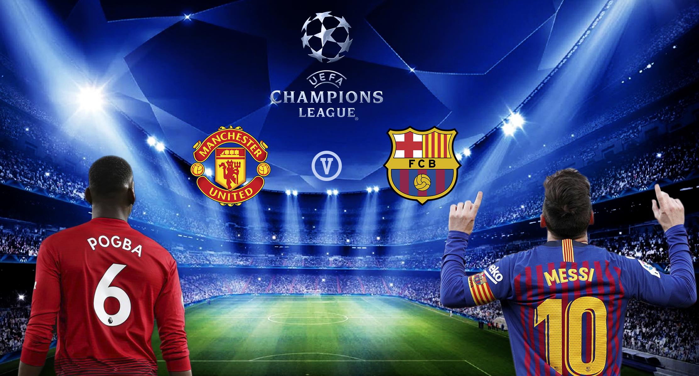 Hasil Pertandingan Manchester United vs Barcelona