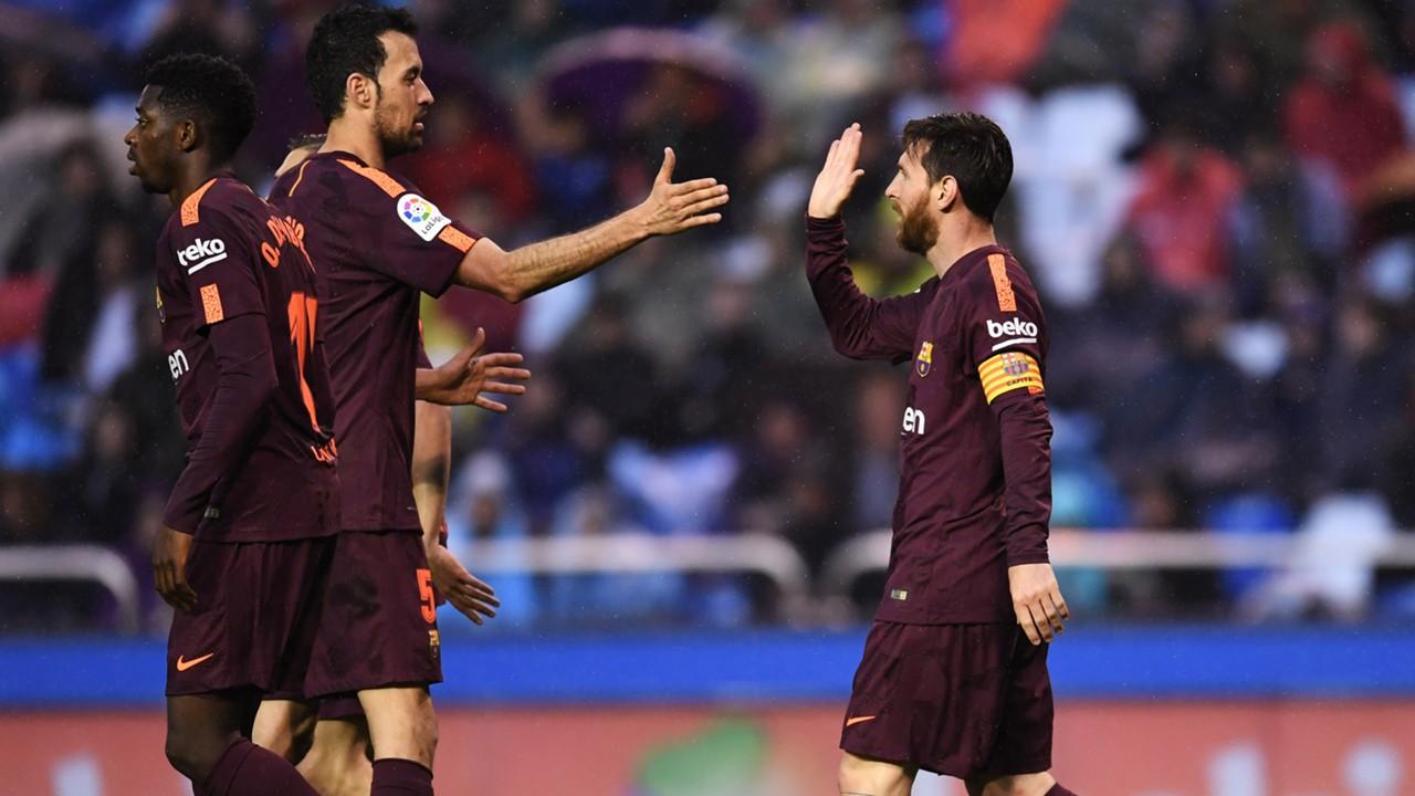 Hadapi Huesca, Barca Tanpa Messi dan Busquets