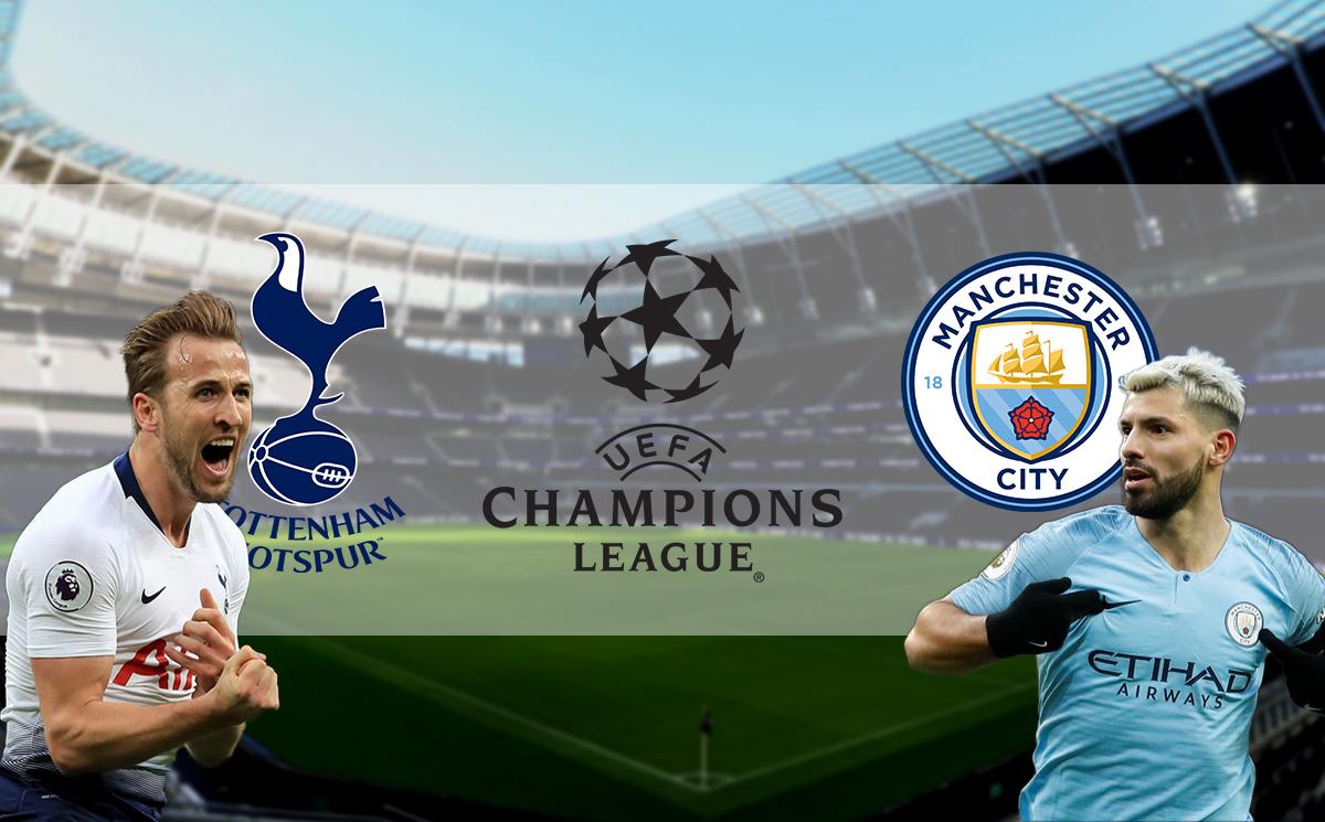 Hasil Pertandingan Tottenham VS Manchester City