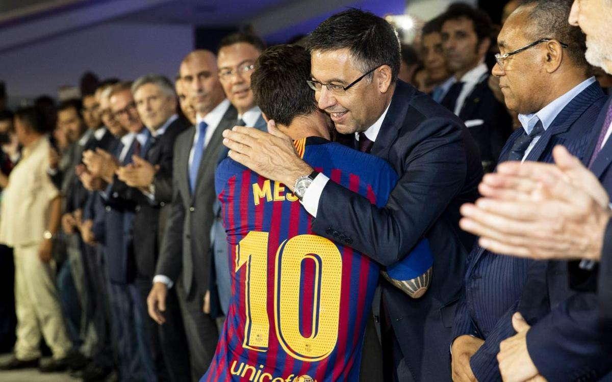 Bartomeu : Hubungan Barca Dan Messi Bertahan Selamanya