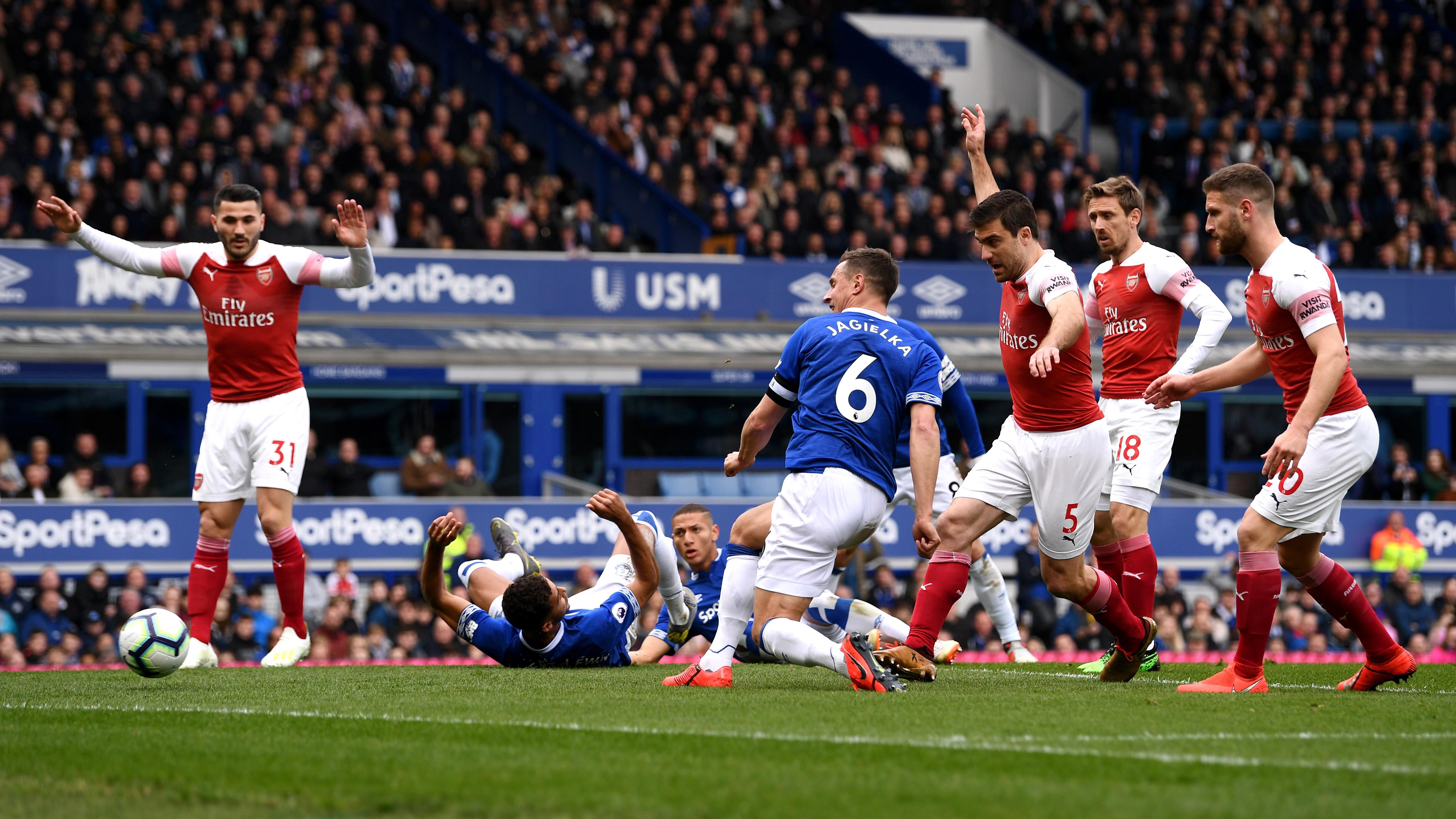 Phil Jagielka Senang Bisa Kalahkan Arsenal