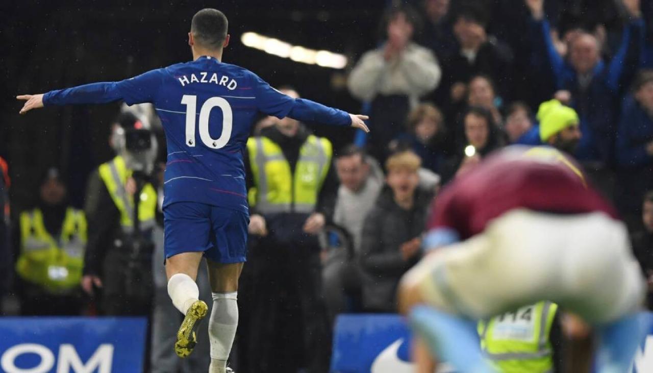 Hazard Dipastikan Tolak Kontrak Baru Chelsea