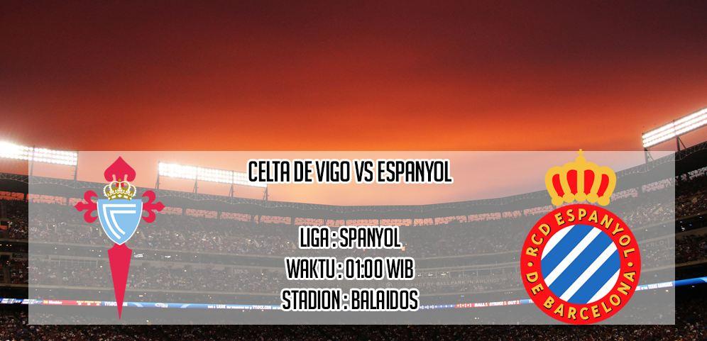 Prediksi Score Celta Vigo Vs Espanyol