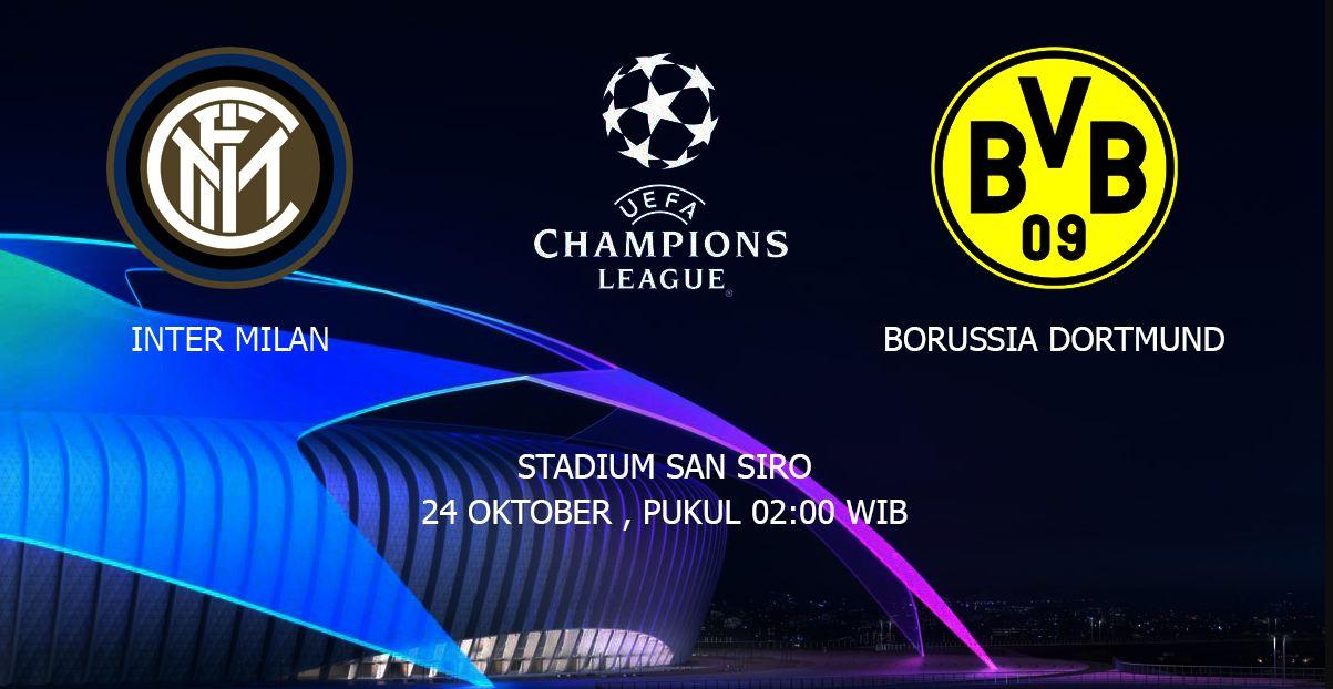 Prediksi Skor Inter Milan Vs Borussia Dortmund