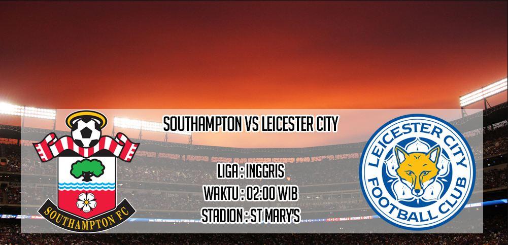 Prediksi Skor Southampton Vs Leicester