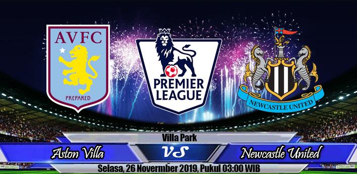 Prediksi Skor Aston Villa Vs Newcastle
