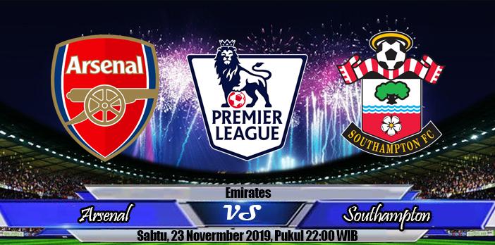 Prediksi Skor Arsenal Vs Southampton