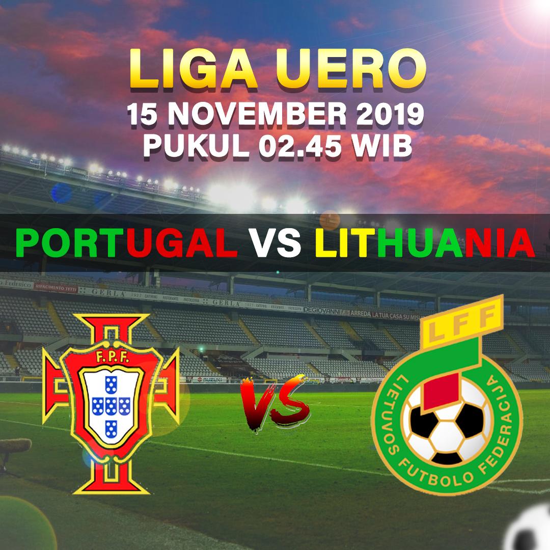 Prediksi Skor Portugal Vs Lithuania