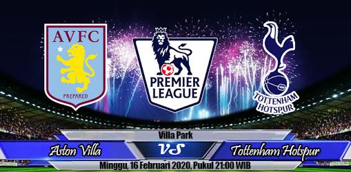 Prediksi Skor Aston Villa Vs Tottenham Hotspur