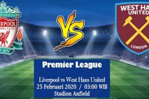 Prediksi Skor Liverpool Vs West Ham