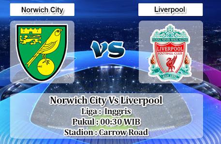 Prediksi Skor Norwich Vs Liverpool