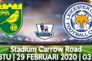 Prediksi Skor Norwich Vs Leicester