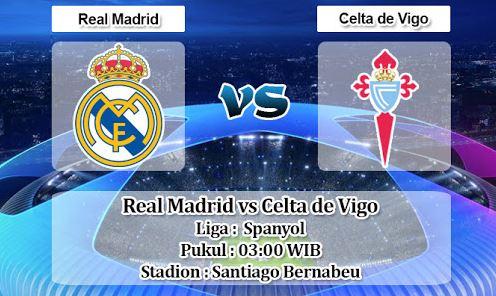 Prediksi Skor Real Madrid Vs Celta Vigo