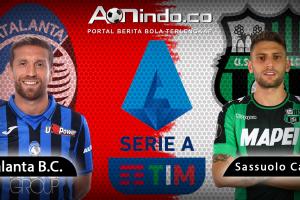 Prediksi skor Atalanta vs Sassuolo