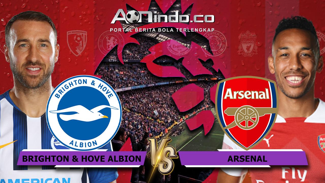 Prediksi Skor Brighton Vs Arsenal