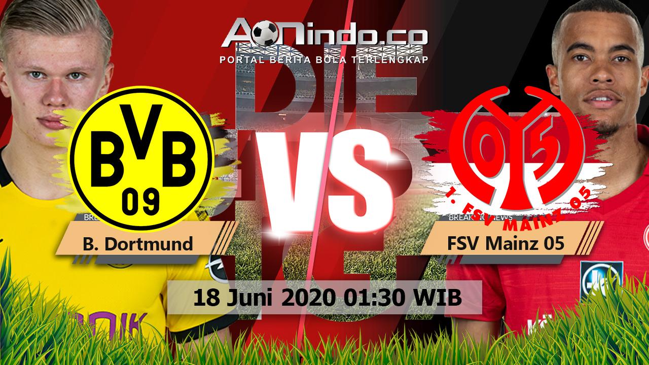 Prediksi Skor Borussia Dortmund vs FSV Mainz 05