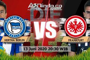 Prediksi Skor Hertha Berlin Vs Frankfurt